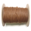 Cord Waxed 2mm Brown
